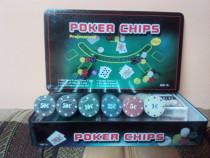 Set Poker 300 jetoane/chips inscriptionate
