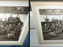 4102-WW2-Foto veche:Grup Soldati 3 Reich, 2 lea razboi mond.