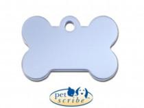 Medalion Os Mic Aluminiu Bleu Pet Scribe