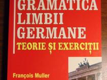 Gramatica limbii germane. Teorie si exercitii - F. Muller