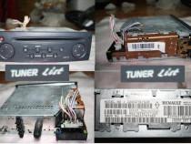Radio-Cd Tuner List modele Renault  fabricatie  2001/2009