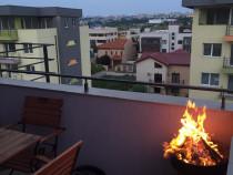 Inchiriez Apartament cu terasa Tomis Plus in regim Hotelier