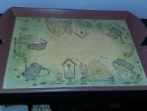 Tavita de lemn vintage