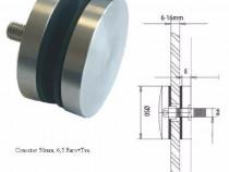 Accesorii inox: cleme, conectori, suport mana curenta