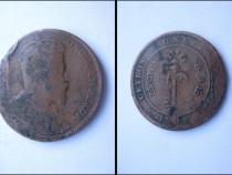 Moneda veche Ceylon 1909 1 cent-George 5, King & Emperor.