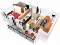 Apartament 2 camere- bloc nou- Cug- 48mp- comision 0