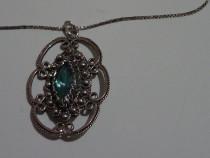Medalion - bratara din argint 925