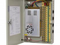 Sursa stabilizata in comutatie pentru 18 camere 320W cutie