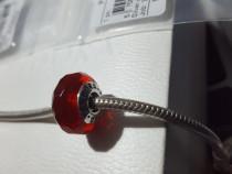 - 791066- talisman pandora murano rosu-