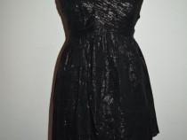 Rochie neagra eleganta, sexy, de petrecere