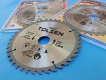Disc/Panza (185mm/30mm/40 dinti) Ferastrau Circular TOLSEN