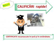 Curs rapid lacatus instalator gaze electrician sudor zidar
