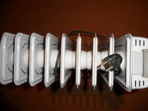 Calorifer electric pe ulei, cu ventilator