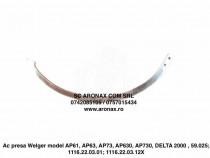 Ac presa Welger model AP61, AP63, AP73, AP630, AP730, DELTA