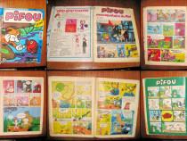 Revista Pifou-decembrie 1976.Coperta uzata si reconditionata
