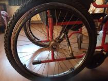 1 Pereche de roti de bicicleta pentru fotoliu rulant