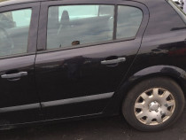 Usa Stanga Spate Opel Astra H Neagra serie culoare Z2HU