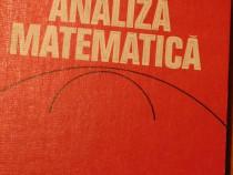 Analiza matematica de Marcel Rosculet