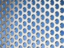 Tabla perforata de aluminiu 2x1000x2000mm perforatii rotunde