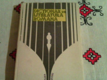 Dictionar de Literatura Romana,1979,Ed.Univers,Bucurest