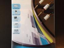 Cablu interconect Jack-2RCA Real Cable Moniteur 1,5m,sigilat