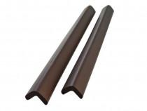 2buc protector colturi/40 cm 265 Maro Set