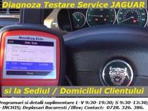 Diagnoza testare tester jaguar service auto si la domiciliu