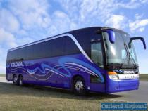 Brasov Hunedoara-Newcastle Anglia,Transport persoane