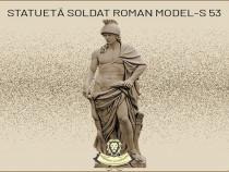 Statueta soldat roman din beton model S53.