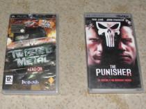 Joc Twisted Metal si film The Punisher pentru PSP