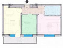 Apartament nou 2 camere conf 1 decomandat 45mp Periferie
