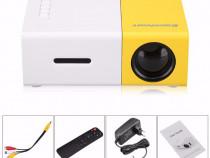 Videoproiector excelvan led mini portabil hdmi usb av sd nou