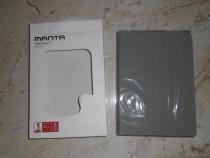 """Husa pentru tableta universala 7"""", gri, model MANTA MTE7003"""