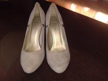 Pantofi noi dama catifea