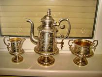 3117-set de servit ceai vechi firma suedeza engstrom.