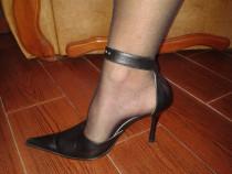 Pantofi dama eleganti piele naturala