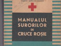 Manualul surorilor de cruce rosie de Dr.V.Dragotoiu,