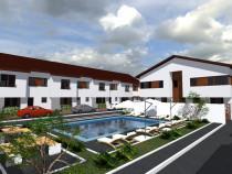 Vilă 4cam cu piscină-pret d apartament.5%reducere plata cash