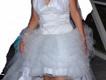 Rochie de mireasa realizata la comanda , model deosebit