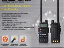 Statii portabile emisie receptie walkie talkie baofeng uv-5r
