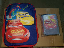 Rucsac Nou, Ghiozdan + penar Disney Cars