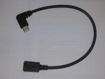 Adaptor mini cablu USB 2.0 Micro-B mama la USB 2.0 Tip C tat
