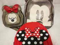 Rucsac / Ghiozdan cu Minnie si Mickey