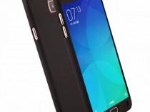 Husa 360 Plastic Fata Spate Folie Sticla Samsung A3 A5 2017