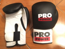 Mănuși de box Pro Power noi, mărimea 10oz