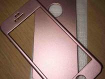 Husa 360 pentru iphone 5,5s,5se,roz sidef sau argintiu