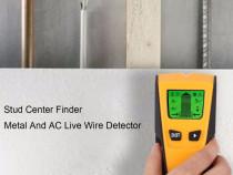 Detector metal, lemn, tevi, cabluri electrice, profil rigips