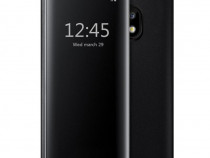 Samsung J3 J5 J7 2017 - Flip Case Oglinda Auriu, Negru, Alba