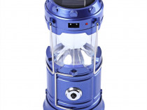 Felinar Camping LED Reincarcabil Lanterna Panou Solar C157