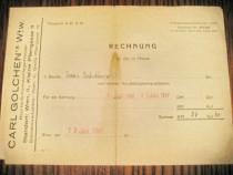 Act vechi-Rechnung Carl Golschen Wien 1947-20_15 cm.